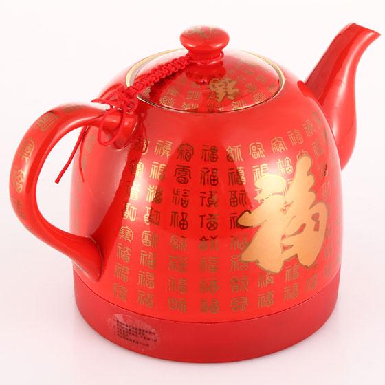 福瑞德陶瓷电热水壶皇家套装