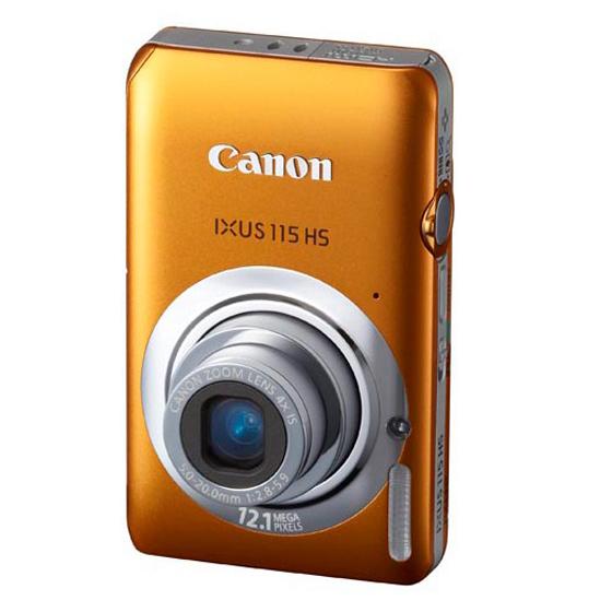 佳能 canon ixus115 hs 数码相机 橙色 4 高清图片