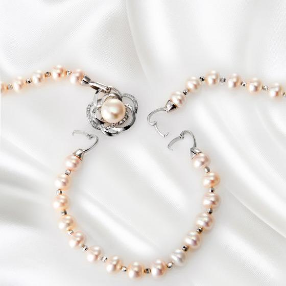 珍藏版奢华珍贵珍珠项链套组